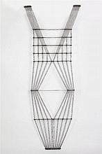 Peter Collingwood (1922-2008) M.96 No.1 Macrogauze wall hanging