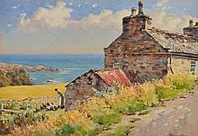 JOHN ERNEST AITKEN (1881-1957) 'On the Glen Chass Road, Por