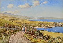 JOHN ERNEST AITKEN (1881-1957) 'The Blackberry Pickers, The
