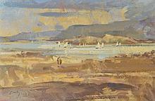 WILLIAM DEALTRY (b.1915) A highland estuary, 2000, signed,