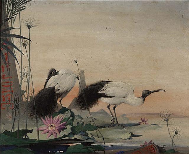 EDWARD JULIAN DETMOLD (1883-1957) - 'Where