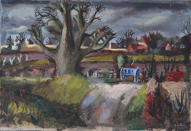 ROWLAND SUDDABY (1912-1972) 'Carting roots