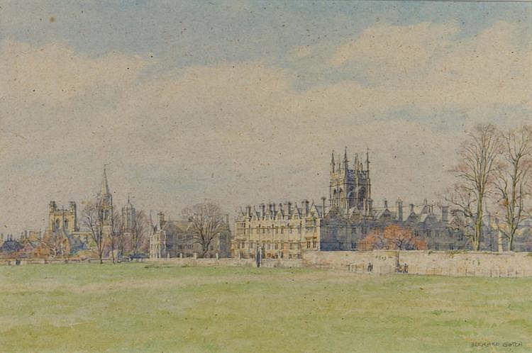 BERNARD CECIL GOTCH (b. 1876) Merton College from