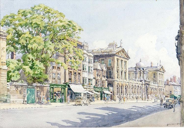 BERNARD CECIL GOTCH (b. 1876) The High Street,