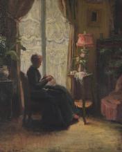 Attribué à Louise Amélie LANDRÉ (1852-?). …