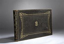 Eugénie PETIT (1831-1904) Album de dessins au crayon notamment d'après Loui