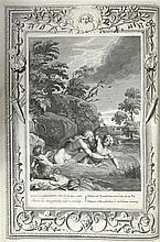 LA BARRE DE BEAUMARCHAIS, Antoine de] - Le Temple des Muses, orné de LX tab