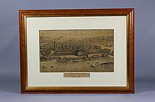 Lithograph; View of Rocky Point Rhode Island