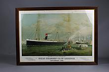 Ocean Steamship CO. of Savannah Print