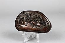 Chinese Qing Dynasty  Erotica Rosewood Box