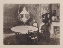 Claude Monet : Interieur apres Diner
