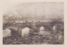 Claude Monet : Londres Waterloo-Bridge