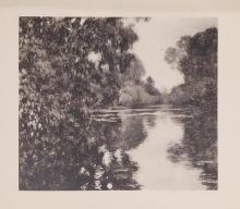 Claude Monet : Bras de Sien Pres Giverny