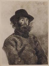 Claude Monet : Poly, Pecheur de Kirvillaouen, Belle-isle-en-mer (Fisherman of Kirvillaouen)