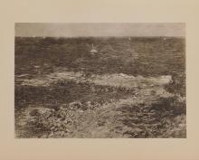 Claude Monet : La Mediterranean Sous le Mistral