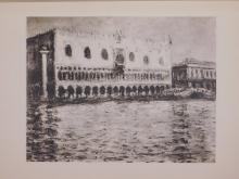 Claude Monet : Venise Palais Ducal