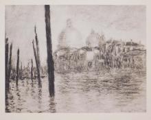 Claude Monet : Venise Santa Maria Della Salute