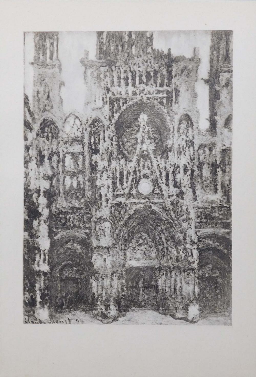 After Claude Monet: Cathedrale de Rouen