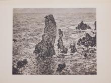 Claude Monet : La Pyramide de Port-Coton, Belle-isle-en-mer