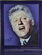 BILL CLINTONS AMERICA POSTER SIGNED BY JOSEPH SOHM