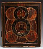 18TH CENTURY ALL SEEING EYE OF GOD RUSSIAN ICON