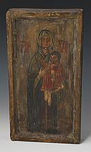 RELIGIOUS ICON MARY & CHRIST CHILD