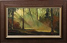 JIM BENTLEY INDIAN SUMMER BELLPORTY NY OIL / BOARD