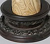 LARGE 19TH C. CHINESE CARVED IVORY BEAUTY