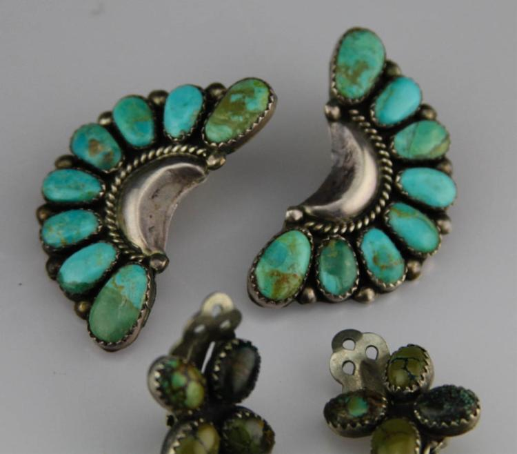 Vintage Sterling Silver Heart Link Bracele in addition 4 Pairs Navajo Sterling Silver Earrings 69406 C 2974d22b30 likewise Turquoise jewelry main further 4 Pairs Navajo Sterling Silver Earrings 69406 C 2974d22b30 additionally 8026 5721 Native American Clip Turquoise Earrings Oscar Betz. on oscar betz earrings
