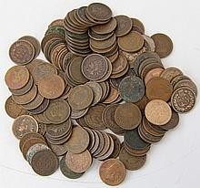 150 UNSEARCHED INDIAN HEAD PENNIES