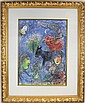 MARC CHAGALL L'ETE FRAMED PRINT