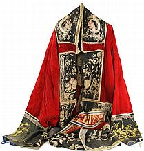 CHINESE BOXER REBELLION ROBE 18TH / 19TH CENTURY