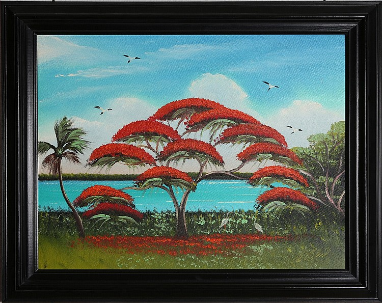 AL BLACK FLORIDA HIGHWAYMEN ROYAL POINCIANA