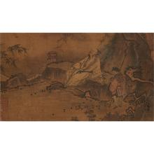 A CHINESE PAINTING OF SCHOLAR by Ma Yuan