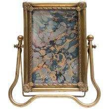 Antique Cheval Style Gilt Photo Frame