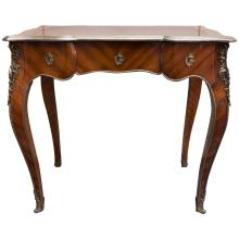 Antique Louis XV Rosewood Bureau Plat