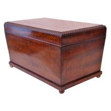 Regency Mahogany Coffer