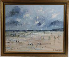 RENEE JACQUES LERNON (C. 1921, FRANCE) OIL