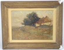 E. A. (EDWARD) PAGE (1850-1928), OIL PAINTING ON