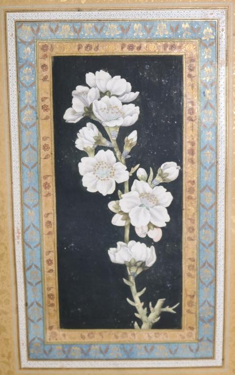 RIZA ABBASI (1610-1630) PERSIAN WATERCOLOR DRAWING