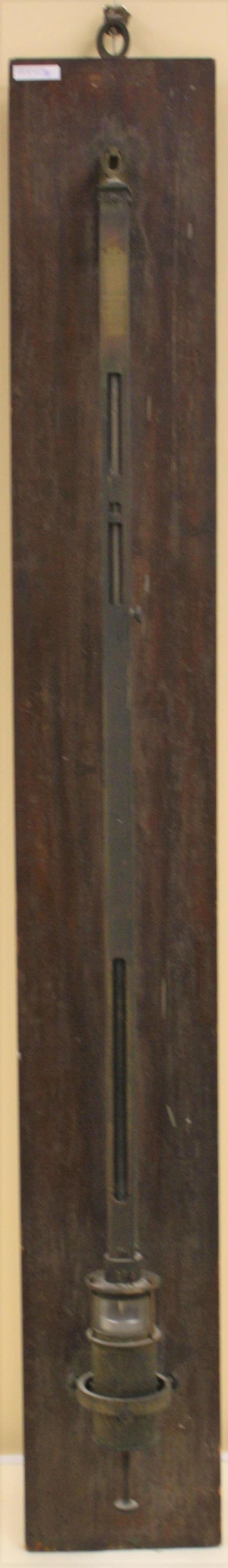 1849 STICK BAROMETER, DUDLEY OBSERVATORY, ALBANY,