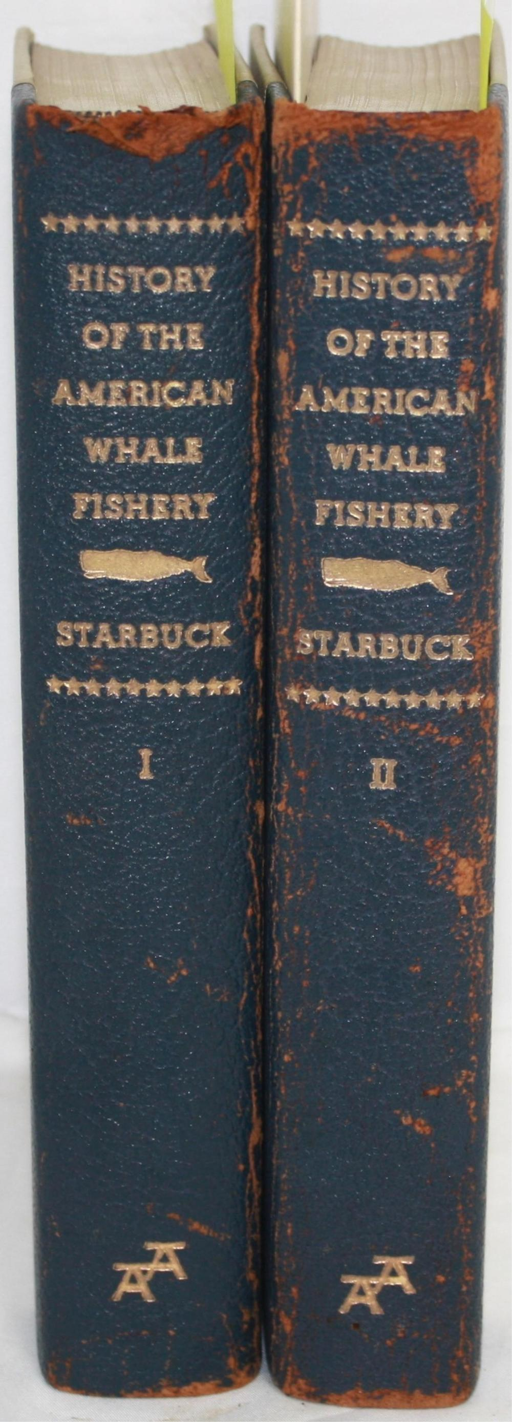 HISTORY OF THE AMERICAN WHALE FISHERY, 2 VOLUME