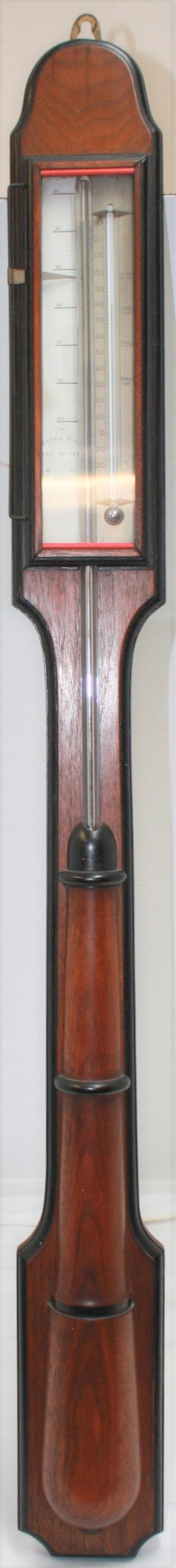"""19TH CENTURY STICK BAROMETER, """"THE STORM KING"""","""