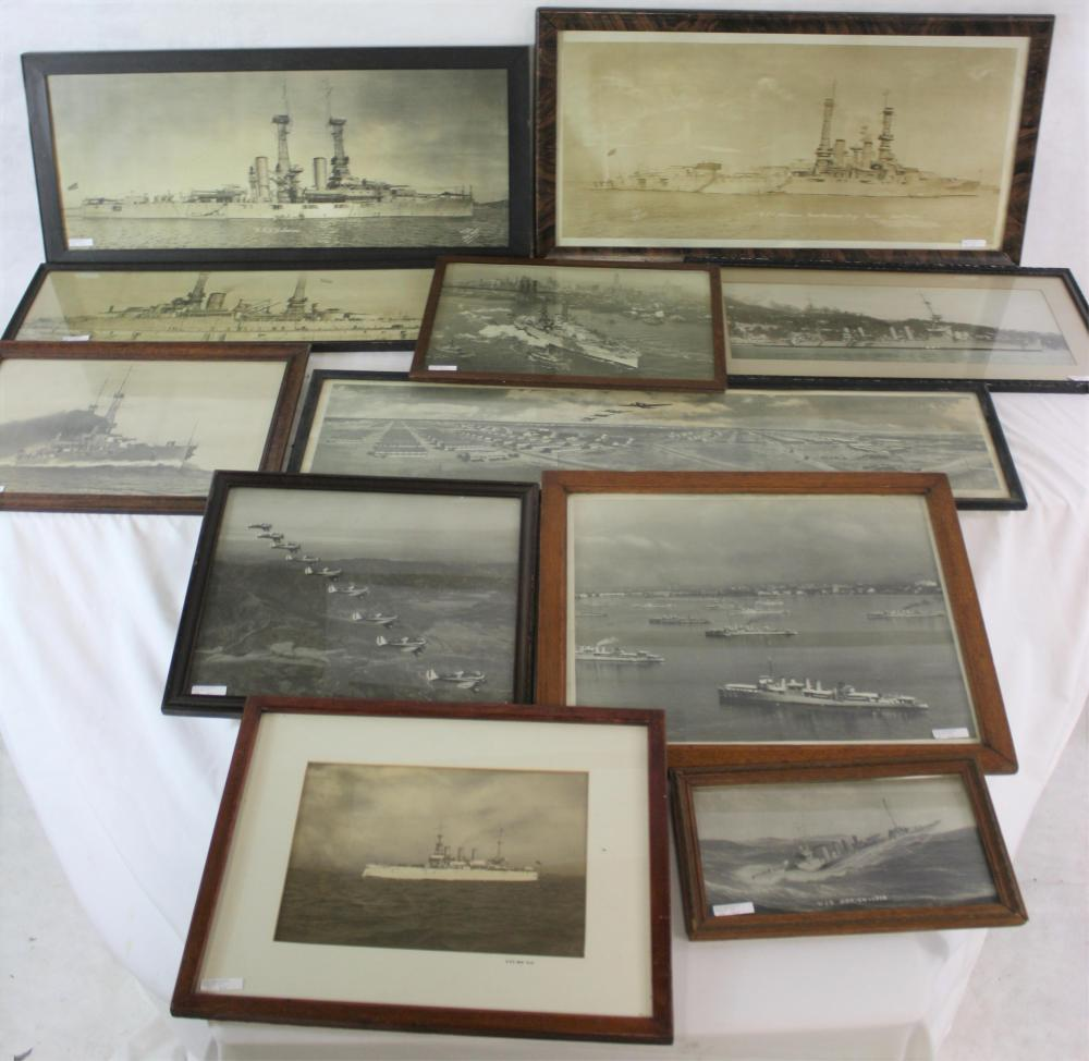 LOT OF 11 HISTORIC AMERICAN NAVAL PHOTOGRAPHS. 9