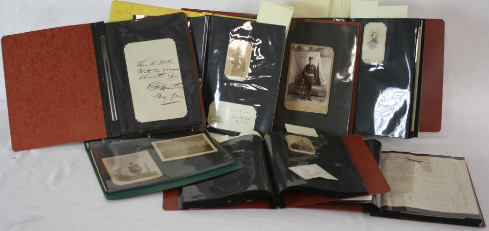 LARGE LOT OF HISTORICAL DOCUMENTS AND
