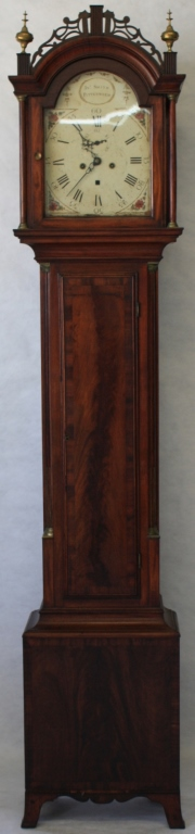 Ca 1810 American Tall Clock Case With A Scottish