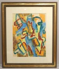 George Sugarman Abstract Work on Paper