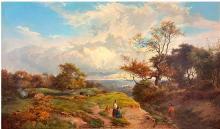 Sidney Richard Percy Oil on Canvas