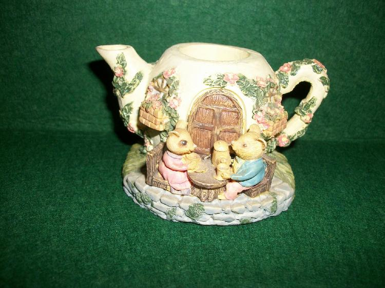Tea Party Candle Holder