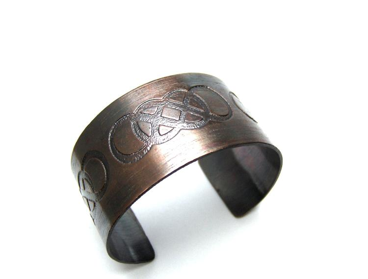 Hand Made Metal Cuff Braclet